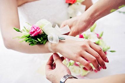 新娘手腕花的含义