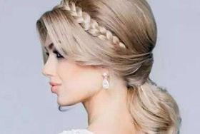 新娘刘海发型