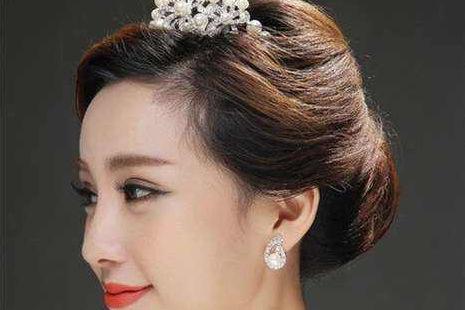 日式新娘发型