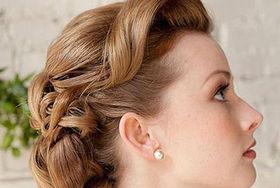 复古新娘发型