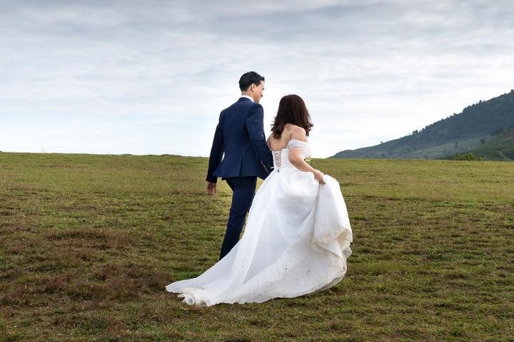 拍婚纱照一般多少钱