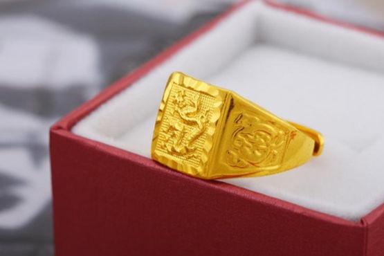 10克黄金戒指有多大