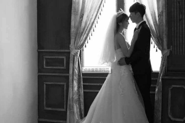 金牛座的婚纱照
