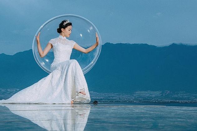 三亚水下婚纱摄影哪家好