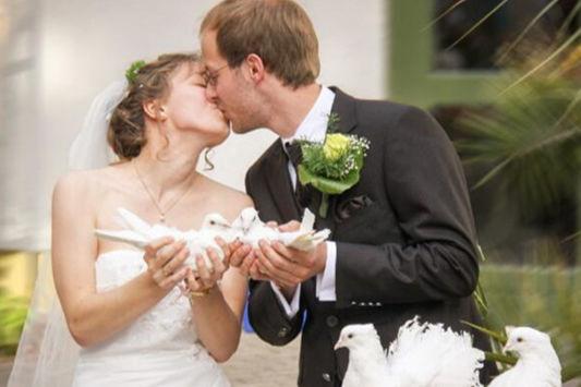 漂亮的婚纱照片