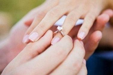 戴戒指的手指