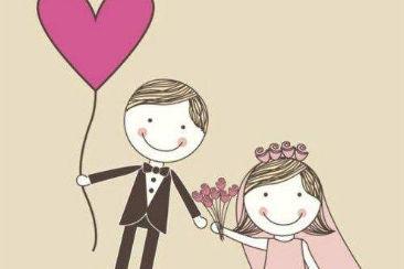对新郎新娘的祝福语