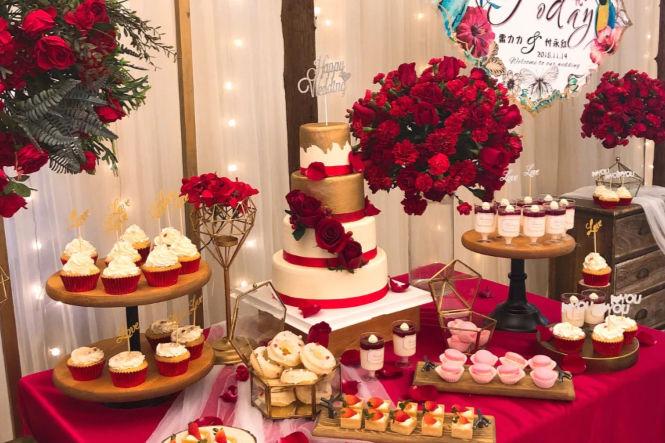 婚礼甜品台一般多少钱