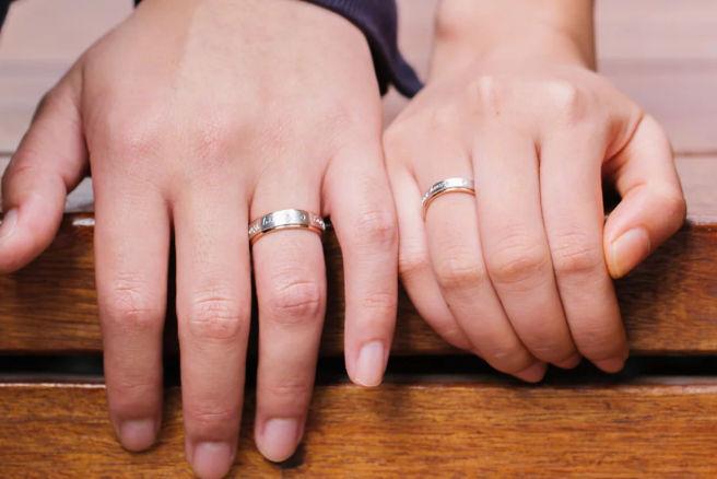 男人戒指的戴法