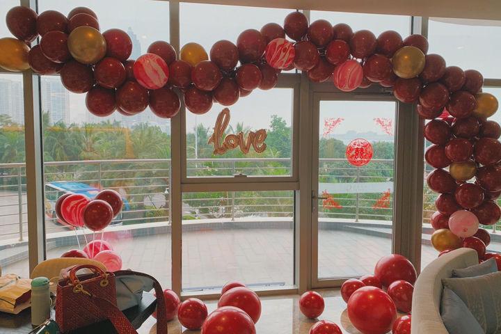 气球如何装饰婚房