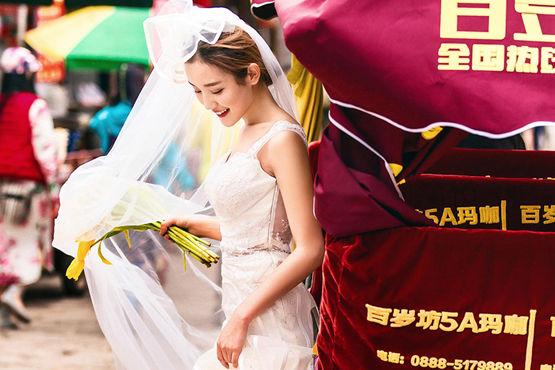 武汉婚纱摄影多少钱