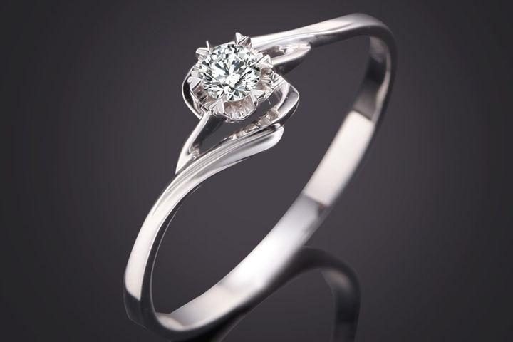 一个白金戒指多少钱