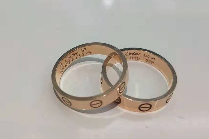 卡地亚750戒指多少钱