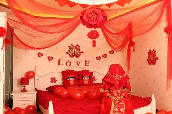 结婚房间怎么布置