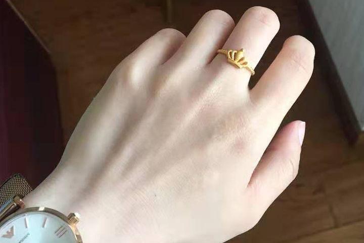 女士金戒指一般多少钱