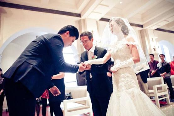 关于婚纱照的唯美句子