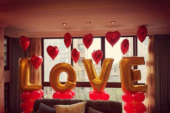 气球怎么布置婚房
