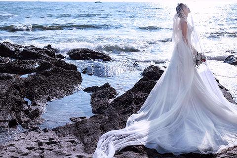 青岛的婚纱照