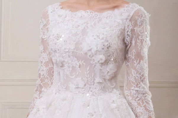 结婚的婚纱图片