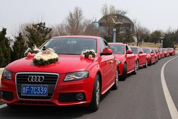结婚车队需要多少钱