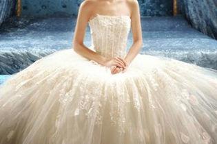 漂亮好看的婚纱图片