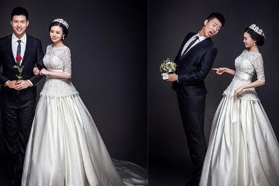 一套婚纱照有几张照片