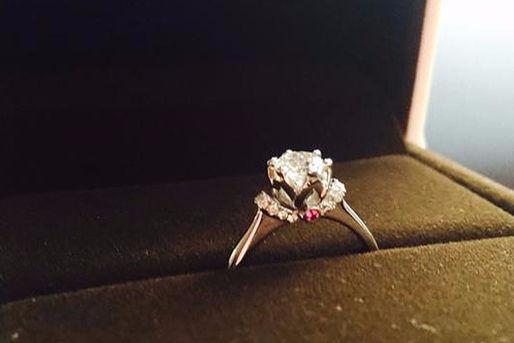 求婚戒指是结婚戒指吗