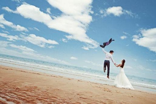 关于婚纱照的文案