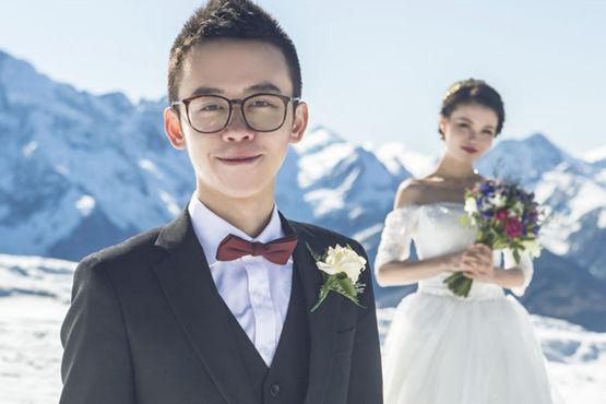 婚纱照是怎么拍的