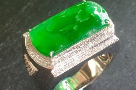 帝王绿戒指多少钱