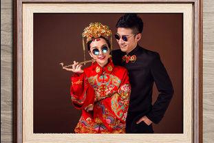 婚纱照相框样式