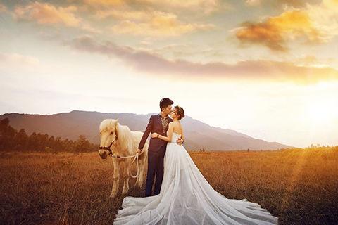婚纱照外景拍摄具体流程