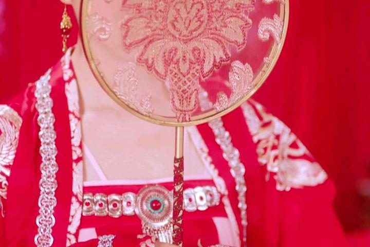 十二星座的古装婚纱
