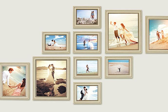 很多人在生活中都会拍摄结婚照,结婚照在拍摄完之后就会在家中保存放起来,大部分的年轻人都会根据自己家的风格设计将照片摆放在家中。今天中国婚博会小编就为大家带来婚纱照照片墙图片大全。