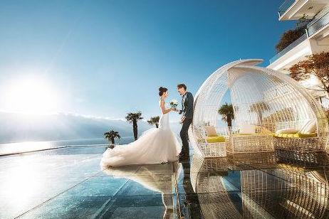 拍婚纱照4000千贵吗