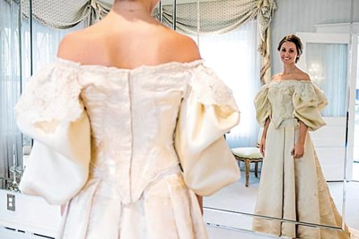 新娘穿的衣服