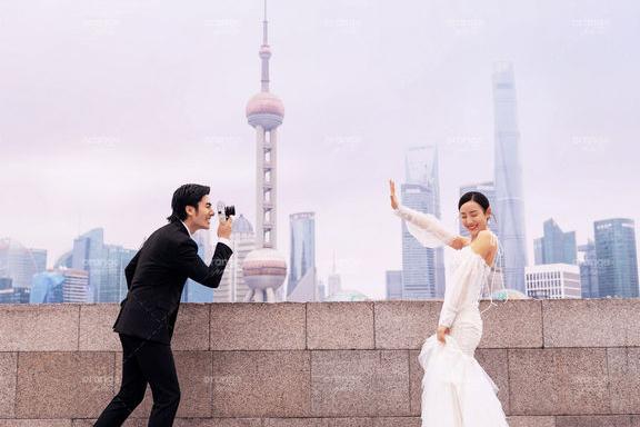 上海拍婚纱照多少钱?