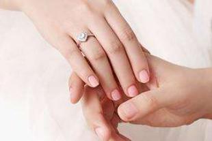 结婚哪个手指戴戒指