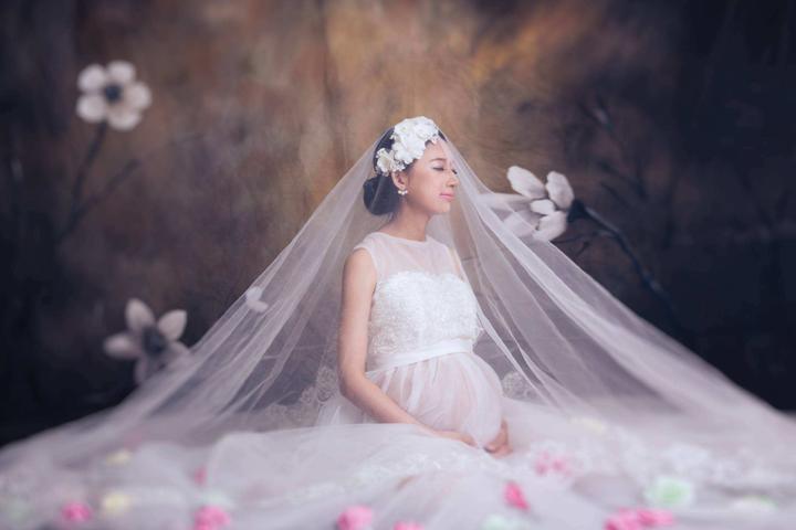 怀孕怎么拍婚纱照