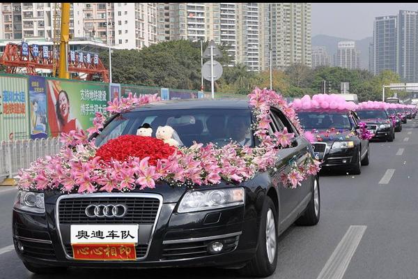 如何租婚车