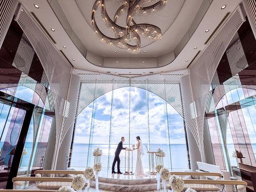 【冲绳】船之教堂婚礼策划仪式布置