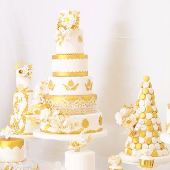 婚礼定制蛋糕  甜品台