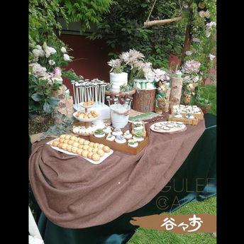婚礼甜品台套餐B