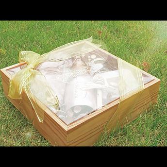 溏心物语方形木质礼盒