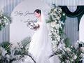 皇室婚典丨青春有你白绿色