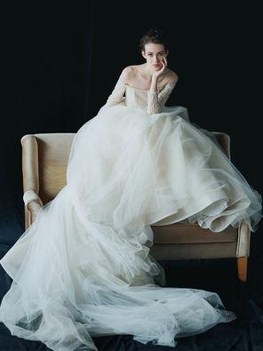 【特惠套餐】绝设JUSERE两件套租赁套餐 婚纱+礼服|婚纱+中式