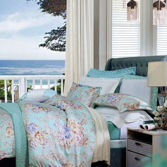 床单四件套:花锦时节