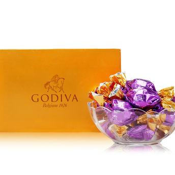 Godiva歌帝梵:欢享松露形黑巧克力40粒装